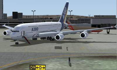Airbus A380 for FSX