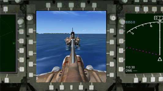 SHADO Sky 1 Monitor for separation