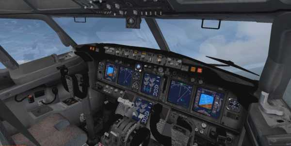Welcome to Perfect Flight » FSX – Default Boeing 737 VC Gray