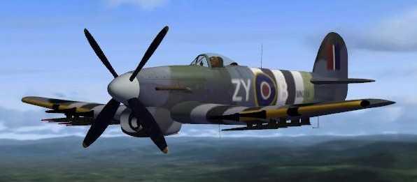 Welcome to Perfect Flight » FSX – Alphasim Hawker Typhoon Update