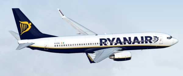 Ryanair boeing 737-800 n737t for fsx.