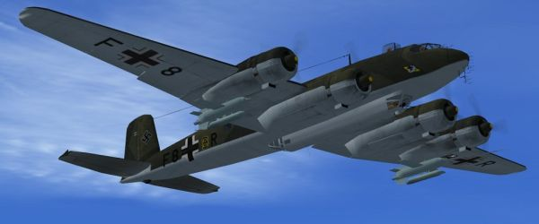 welcome to perfect flight fs2004 fsx focke wulf bomber fw 200 condor. Black Bedroom Furniture Sets. Home Design Ideas
