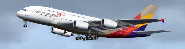 Incanti Su Web » FS2004/FSX – Asiana Airlines Airbus A380-800