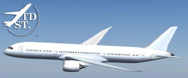 Incanti Su Web » FS2004/FSX – TDS Boeing 787-9 Paint Kit