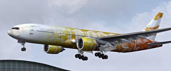 Incanti Su Web » FS2004/FSX – British Airways Boeing 777-236/ER Firebolt