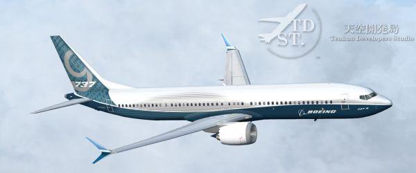 TDS Boeing 737 MAX 9 Base Package FSX/FS2004 - Ariel Creation