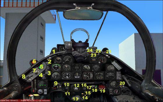 A-1H cockpit