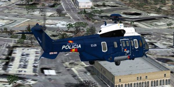 Welcome To Perfect Flight 187 Fsx Puma As332 Spanish Police