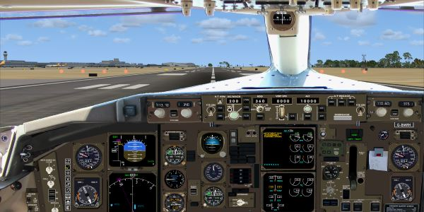 Welcome To Perfect Flight 187 Fsx Boeing B757 200 Panel