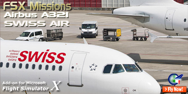 Welcome to Perfect Flight » FSX Missions Airbus A321 Swiss Air